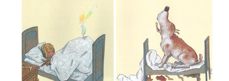1 Иллюстрация Вольфа Эрльбруха к книге «Леонард»
