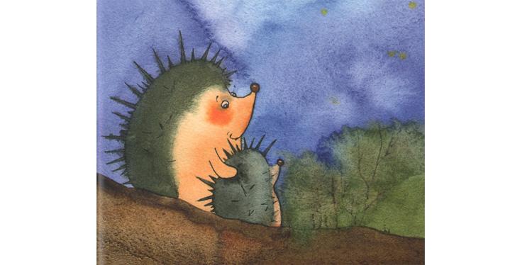 Иллюстрации Виктории Кирдий к книге Елены Ракитиной «Серёжик»