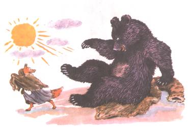 Иллюстрация Владимира Конашевича к книге Владимира Даля «Старик годовик»