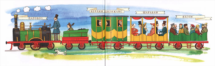 """Иллюстрация из книги «От паровоза до """"Сапсана""""»"""