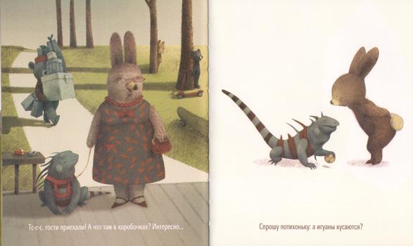 2 Иллюстрация Ренаты Ливски к книге Деборы Андервуд «Тихая книга»
