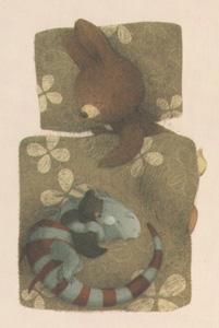 4 Иллюстрация Ренаты Ливски к книге Деборы Андервуд «Тихая книга»