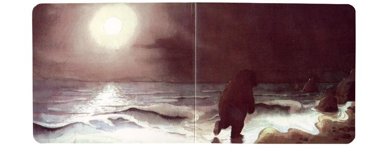 Иллюстрация Хелен Оксенбери к книге «Идем ловить медведя»