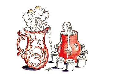 Иллюстрация Мстислава Добужинского к книге стихов Осипа Мандельштама «Примус»