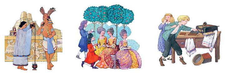 Иллюстрации Натальи Кондратовой к книге Юлии Ивановой «Шоколадно-аппетитная история»