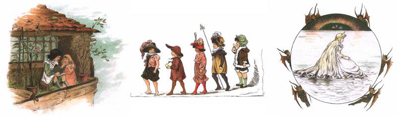 Иллюстрации Пима к сказке Андерсена «Снежная королева»