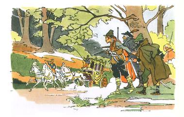Иллюстрация Валерия Алфеевского к сказке Андерсена «Снежная Королева»