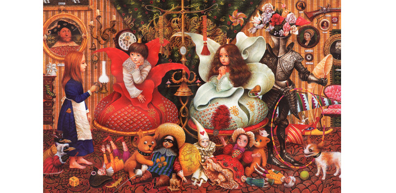 Иллюстрация Владислава Ярко к сказке Андерсена «Снежная королева»