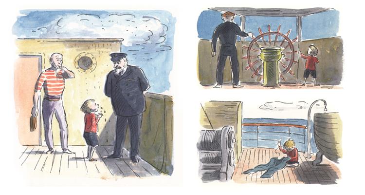 Иллюстрации Эдварда Ардиззона к книге «Тим и отважный капитан»