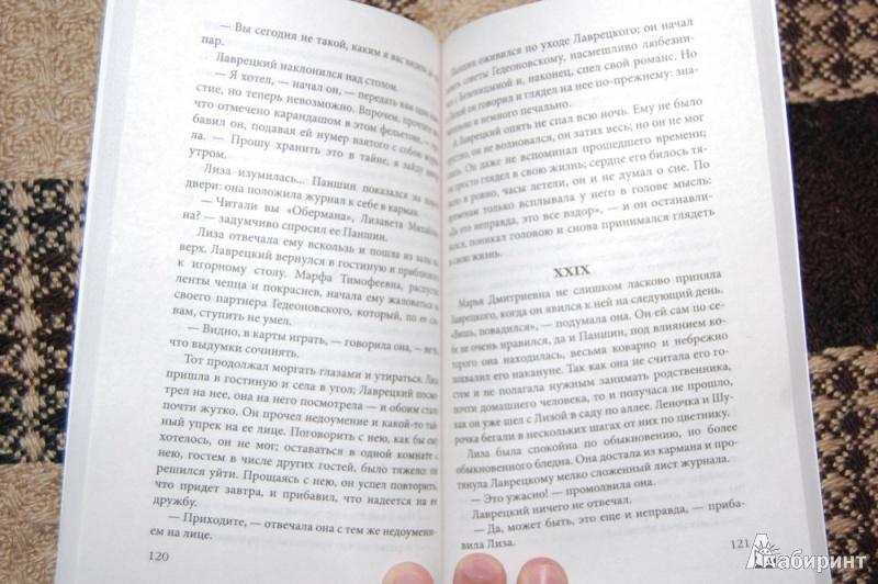Иллюстрация 15 из 17 для Дворянское гнездо - Иван Тургенев | Лабиринт - книги. Источник: evil_academic