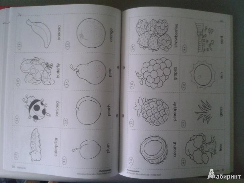 Иллюстрация 3 из 14 для Longman Young Children's Picture Dictionary. Activity Resource Book | Лабиринт - книги. Источник: Fleure