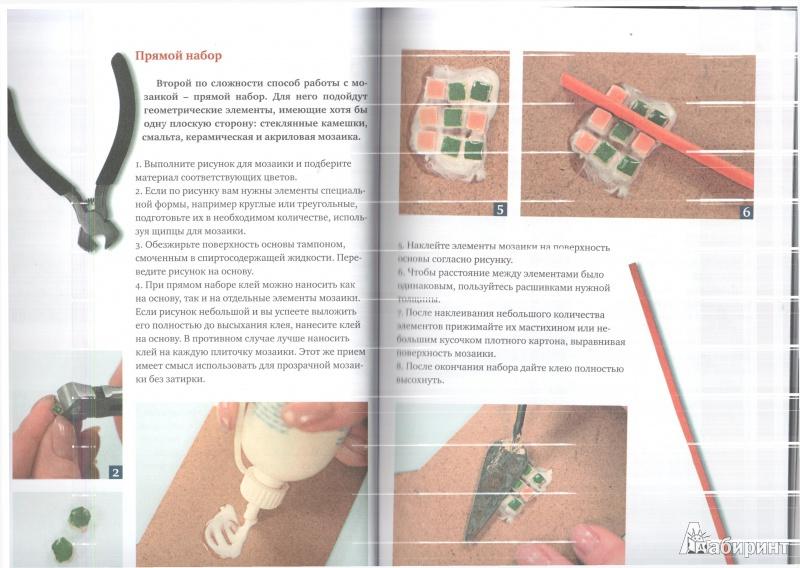Иллюстрация 4 из 9 для Мозаика у вас дома: техники, идеи, решения - Анна Зайцева | Лабиринт - книги. Источник: Юлия Короткова