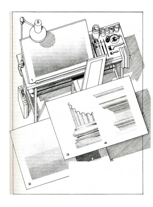 Иллюстрация 5 из 12 для Архитектурная графика - Константин Кудряшев | Лабиринт - книги. Источник: Рыженький