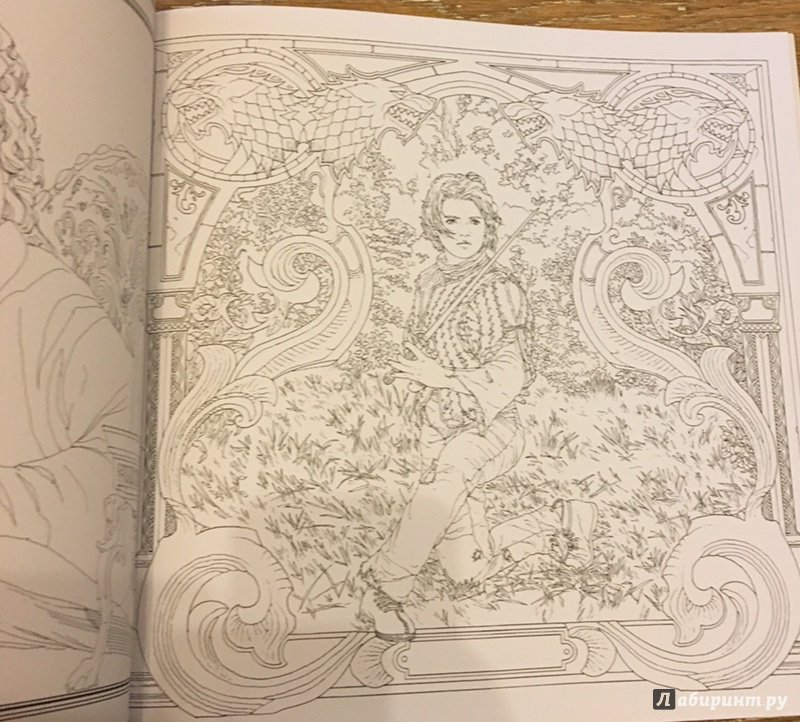 Иллюстрация 5 из 18 для Игра Престолов. Раскраска ...