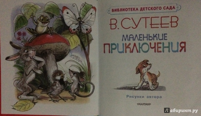 Иллюстрация 10 из 10 для Маленькие приключения - Владимир Сутеев | Лабиринт - книги. Источник: MARI