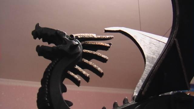 Иллюстрация 3 из 8 для Летящий Дракон и Всадник (М042) | Лабиринт - игрушки. Источник: Fafnir:)))