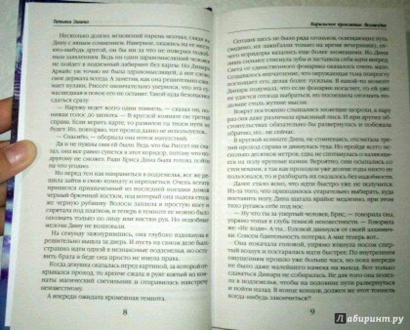 Иллюстрация 11 из 16 для Карильское проклятие. Возмездие - Татьяна Зинина | Лабиринт - книги. Источник: Elli