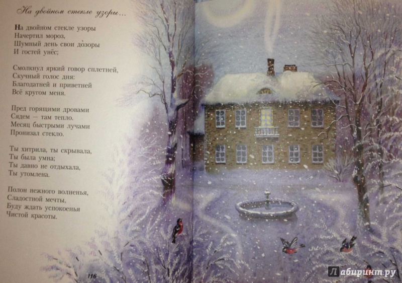 очень важно, афанасий фет стихи про зиму после