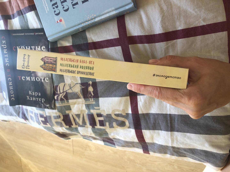 Иллюстрация 69 из 69 для Маленькая Баба-Яга. Маленький Водяной. Маленькое Привидение - Отфрид Пройслер | Лабиринт - книги. Источник: Семенова  Наталья