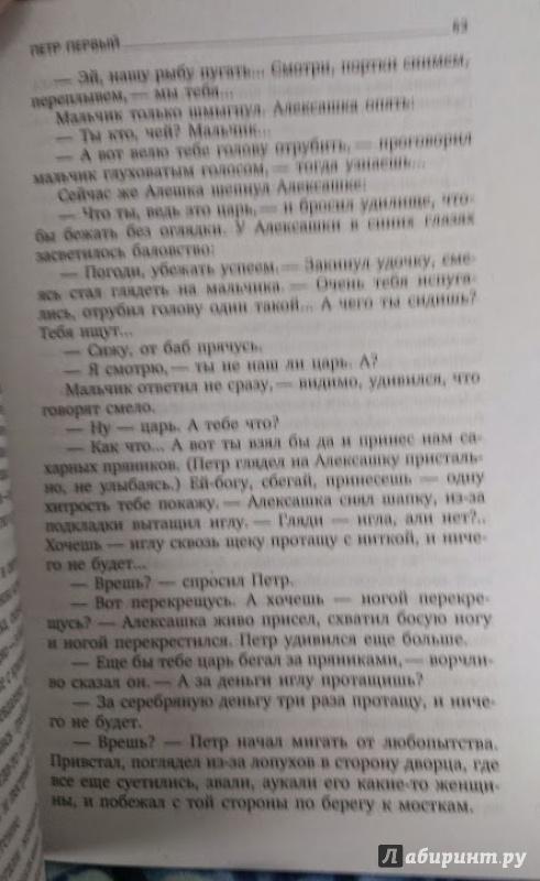 Иллюстрация 8 из 9 для Петр Первый - Алексей Толстой   Лабиринт - книги. Источник: Annexiss