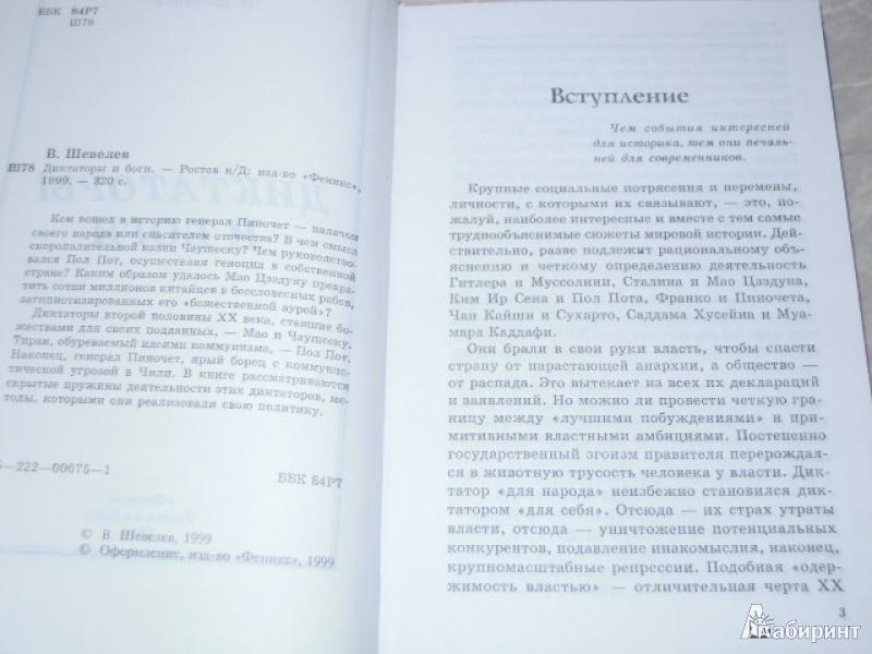 Иллюстрация 3 из 15 для Диктаторы и боги - Владимир Шевелев | Лабиринт - книги. Источник: Iwolga