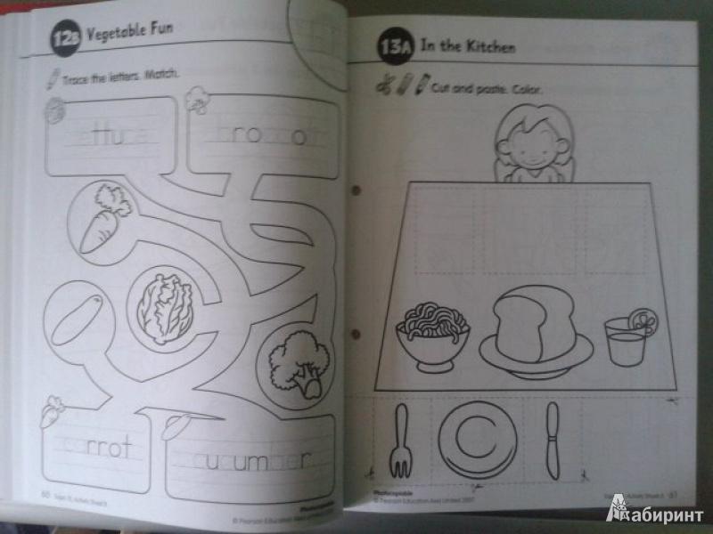 Иллюстрация 4 из 14 для Longman Young Children's Picture Dictionary. Activity Resource Book   Лабиринт - книги. Источник: Fleure
