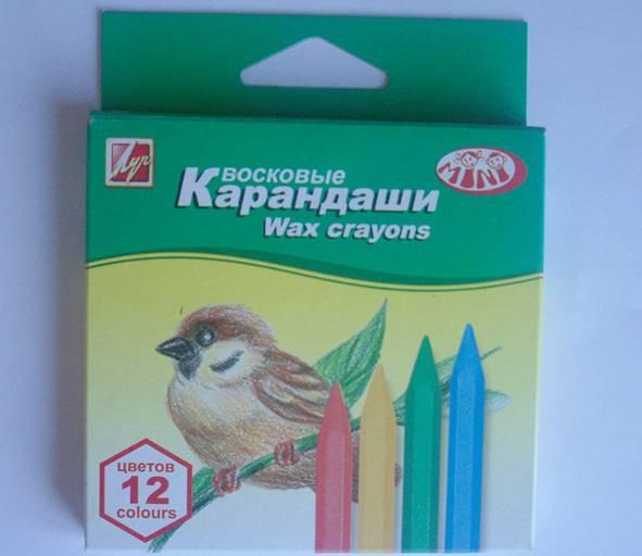 Иллюстрация 7 из 12 для Карандаши восковые шестигранные 12 цветов (12С 865-08) | Лабиринт - канцтовы. Источник: Enigma83