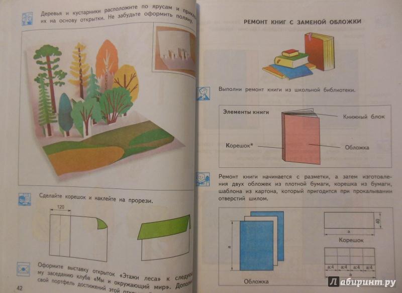 Книги технология открытки
