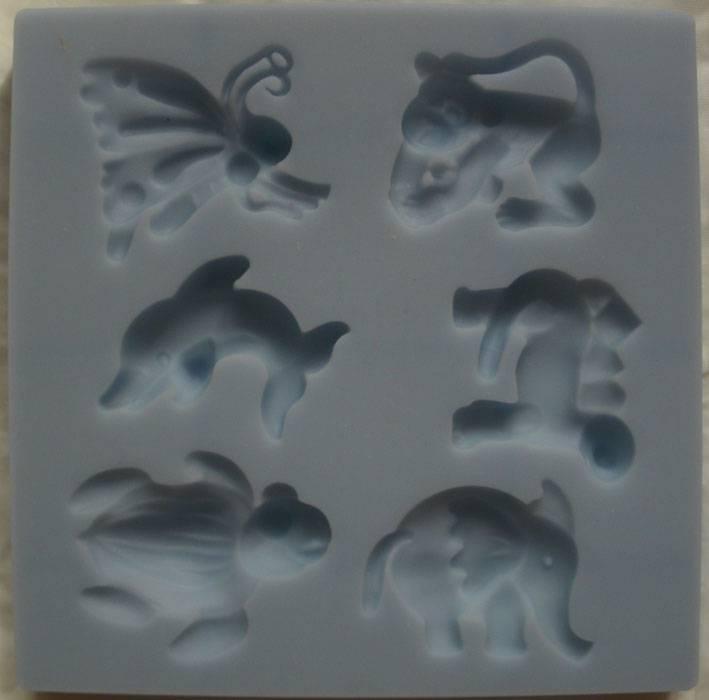 Иллюстрация 1 из 2 для Силиконовые формы (Животные) (8098033) | Лабиринт - игрушки. Источник: Ёжик
