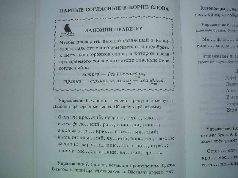 Иллюстрация 4 из 4 для Запомни правило и вставь букву. 3 класс - Ирина Стронская   Лабиринт - книги. Источник: Цветик - Семицветик