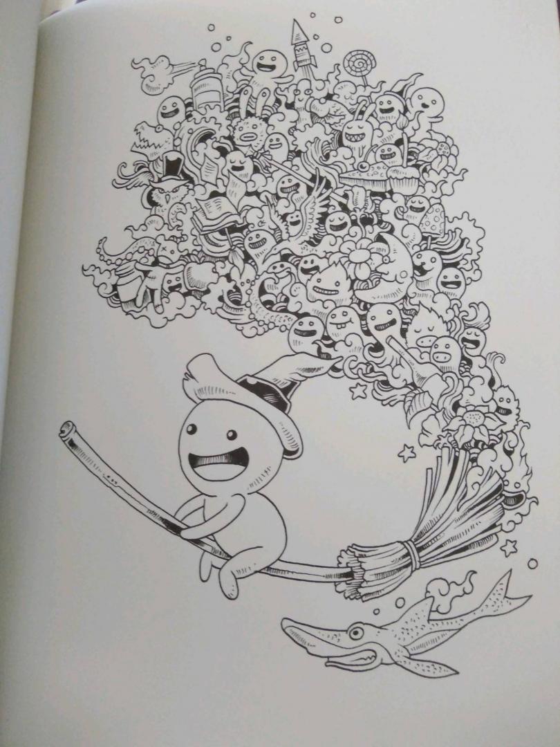 Иллюстрация 83 из 107 для Вторжение дудлов. Не самая ...