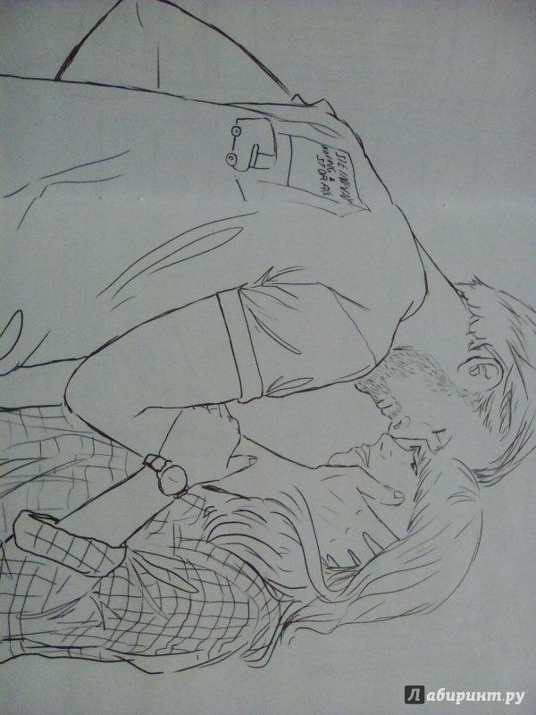 Иллюстрация 6 из 22 для Райан Гослинг. Раскраска для ...