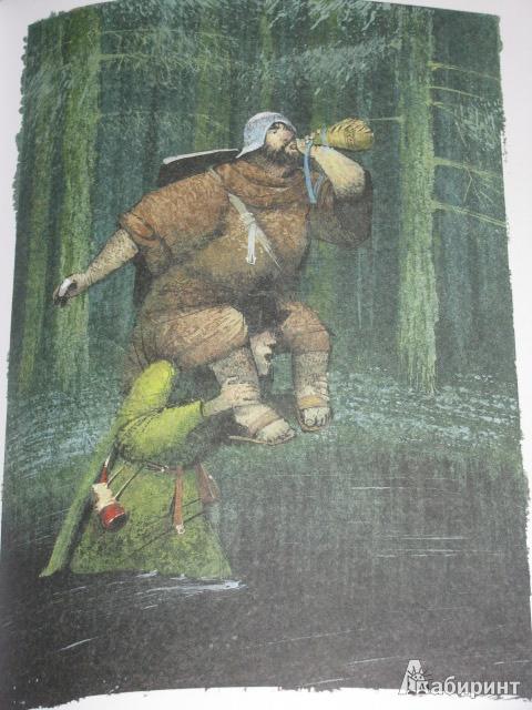 Иллюстрация 30 из 40 для Баллады о Робин Гуде | Лабиринт - книги. Источник: Nemertona