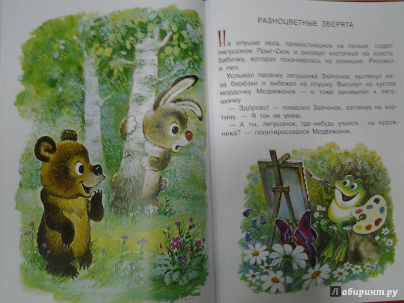 разноцветные зверята с картинками разные времена книгу