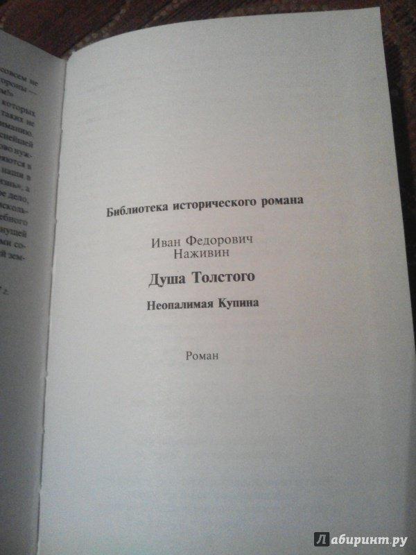 Иллюстрация 8 из 8 для Душа Толстого. Неопалимая купина - Иван Наживин | Лабиринт - книги. Источник: Лабиринт
