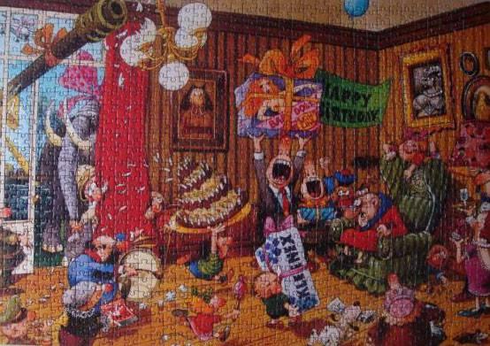 """Иллюстрация 4 из 6 для Puzzle-1000 """"День рождения"""" Loup, Classics (29218)   Лабиринт - игрушки. Источник: Dmit"""