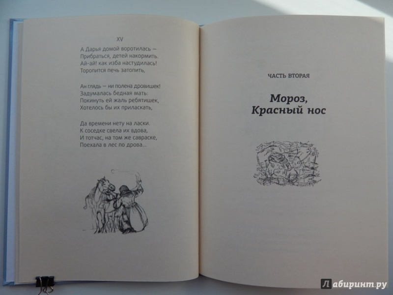 Иллюстрация 29 из 51 для Мороз, Красный нос - Николай Некрасов | Лабиринт - книги. Источник: Мелкова  Оксана