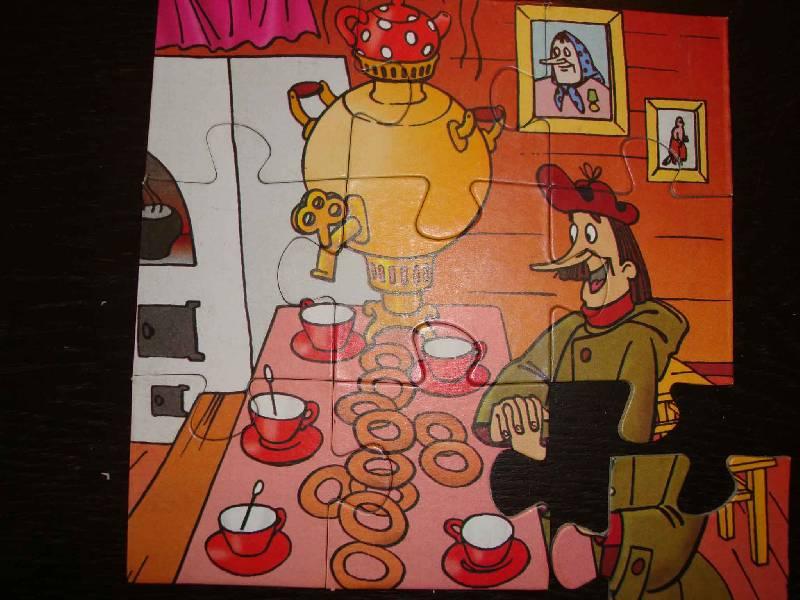 Иллюстрация 1 из 4 для Maxi Puzzle. 9 элементов. Простоквашино (029) | Лабиринт - игрушки. Источник: Ogha