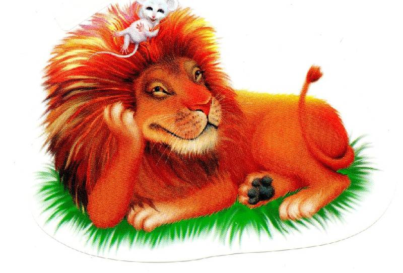 нем лев и мышь сказка с картинками железобетонные массивы сталинской