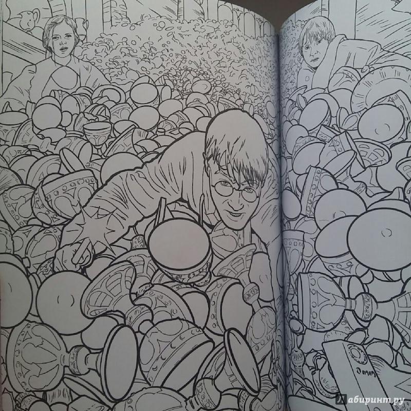 Иллюстрация 39 из 60 для Гарри Поттер. Волшебники и где их ...