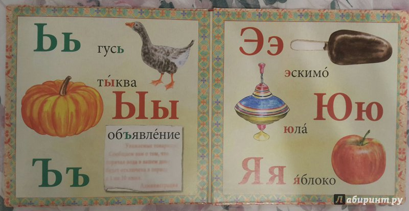 Иллюстрация 14 из 14 для Азбука   Лабиринт - книги. Источник: Давыдова  Амина