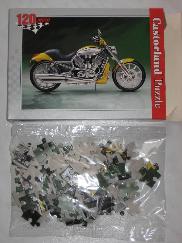 Иллюстрация 1 из 4 для Puzzle-120. Мотоцикл (А-12022-МТ)   Лабиринт - игрушки. Источник: Dana-ja