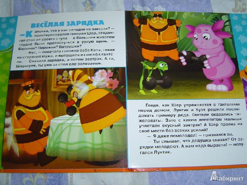 Иллюстрация 5 из 5 для Лунтик и его домик. Волшебный чемоданчик   Лабиринт - книги. Источник: Лек