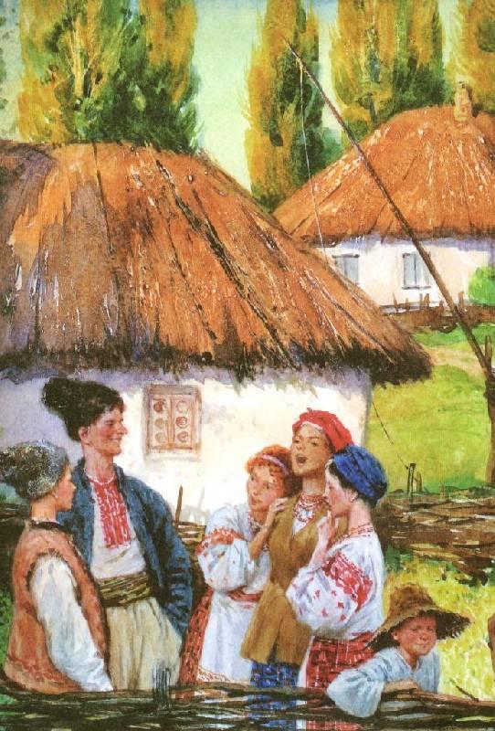 Иллюстрация 66 из 94 для Вечера на хуторе близ Диканьки - Николай Гоголь | Лабиринт - книги. Источник: Zhanna