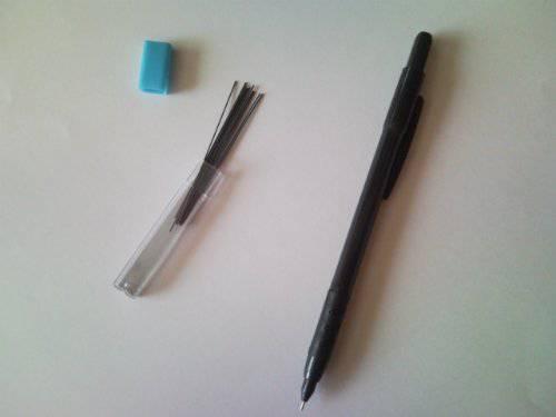 Иллюстрация 1 из 2 для Карандаш автоматический Micromina 0.5 мм + 12 стержней | Лабиринт - канцтовы. Источник: Кириенкова  Валерия Антоновна