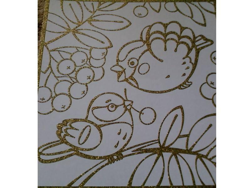 """Иллюстрация 1 из 2 для Чудесная раскраска-мини """"Снегирь и синичка"""" (1858)   Лабиринт - игрушки. Источник: Ольга_"""