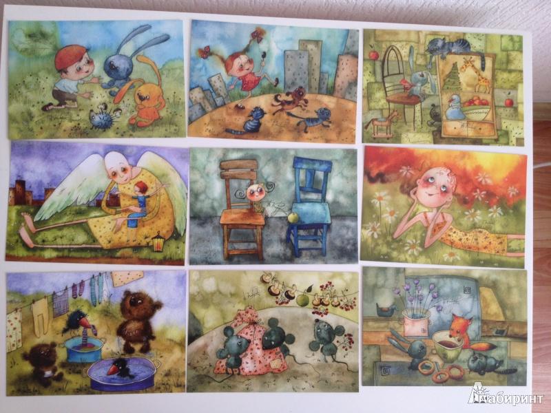 открытки виктории кирдий улыбки для друзей