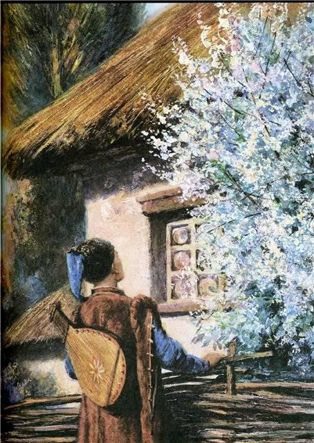 Иллюстрация 28 из 94 для Вечера на хуторе близ Диканьки - Николай Гоголь | Лабиринт - книги. Источник: Гостья
