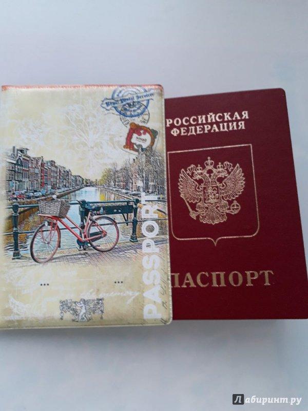 Иллюстрация 16 из 17 для Обложка для паспорта (32401) | Лабиринт - канцтовы. Источник: Ксения  Ксения