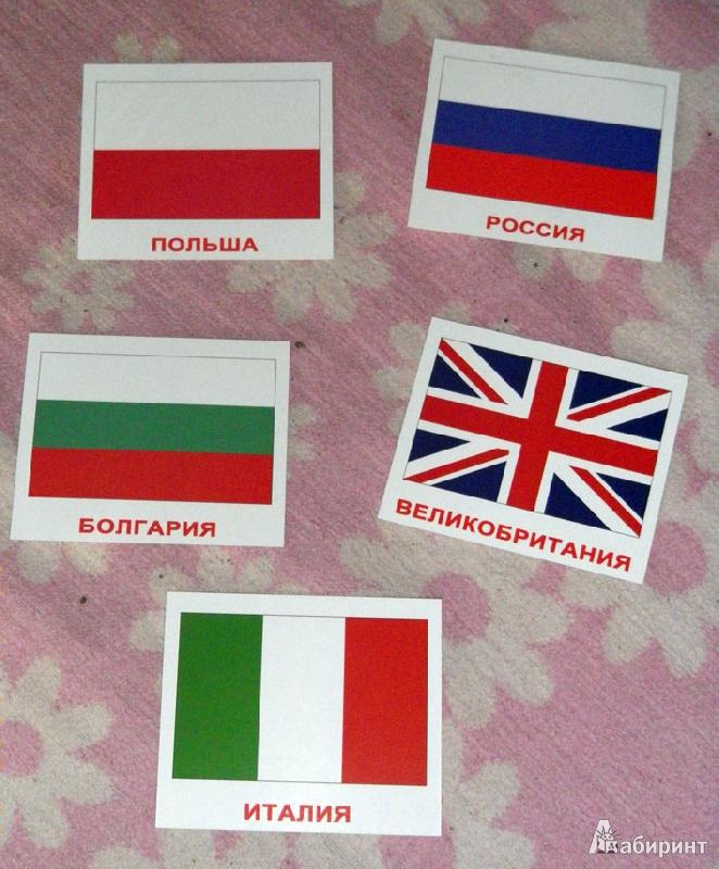 Картинки флагов разных стран с названиями